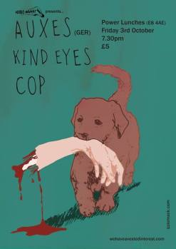 AUXES + THEO + KIND EYES + COP - Power Lunches - Friday 3 October